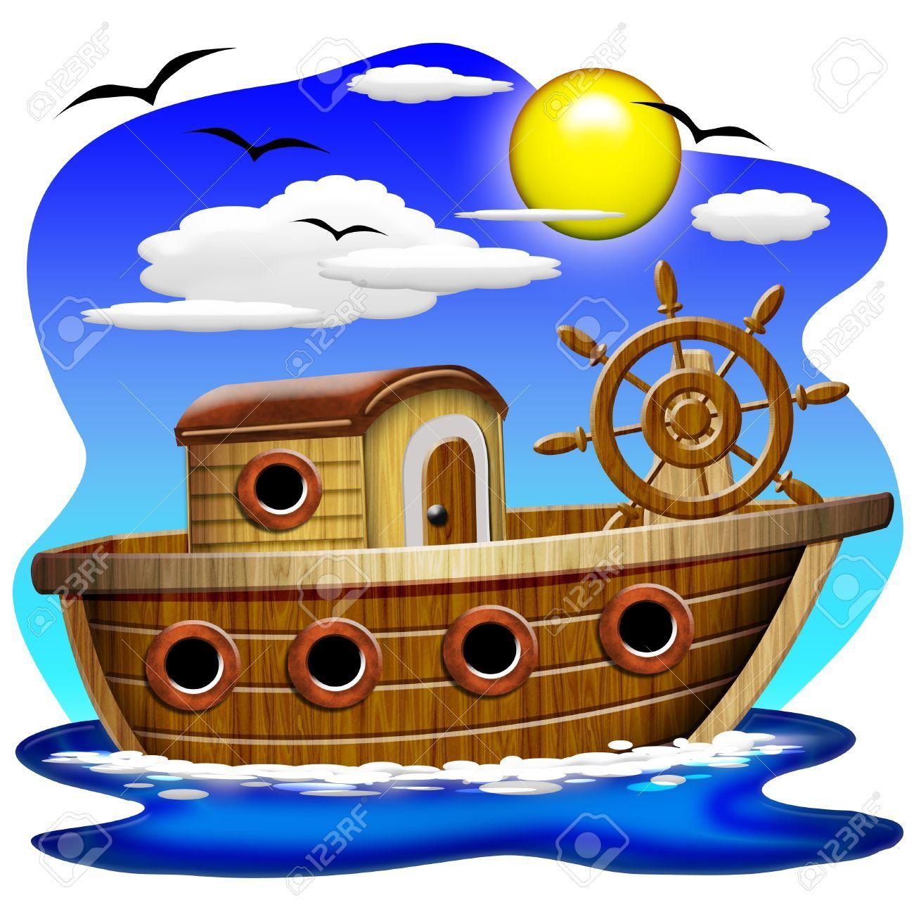 Resultado de imagen para imagenes de barcos animados - Imagenes de barcos infantiles ...