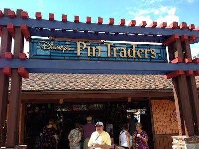Shops of Walt Disney World: Disney's Pin Traders at Downtown Disney! Love pin trading! I have tons of pins! Big collector!