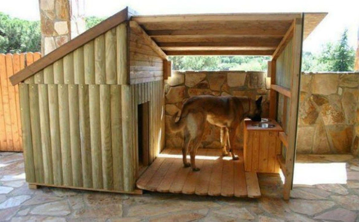 Photo of 30 ideas interesantes de diseño de la casa del perro ~ Matchness.com