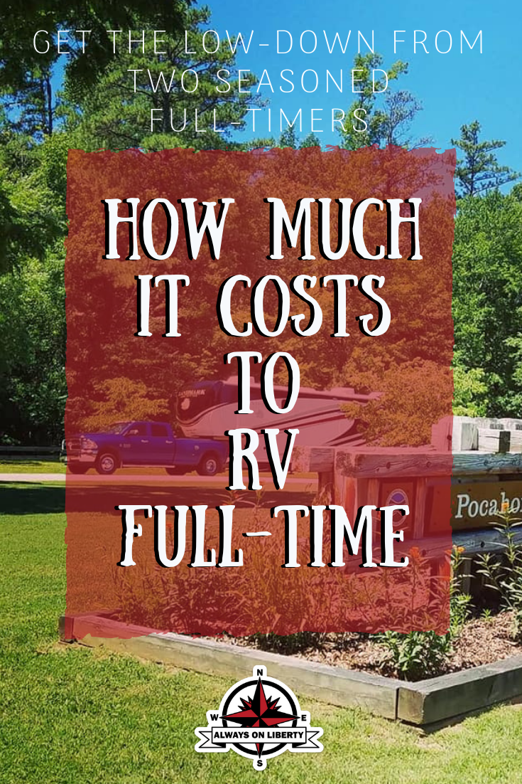 How much it costs to RV full-time!