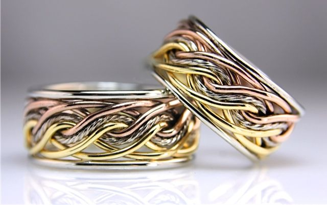 Unique Wedding Ring Sets Ompletely Bands Unusual Rings And Handmade
