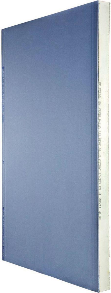 Panneau De Doublage Polyurethane Isolant Thermique Sis Reve Efisol 10 40 L 2 6 M En 2020 Isolation Interieure Panneau