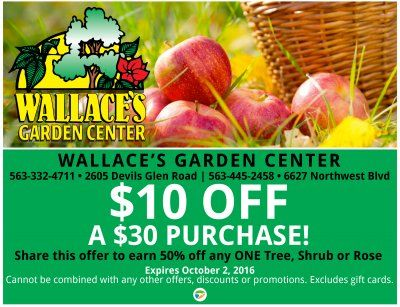 Wallaces is the place to BE this #Fall! | TapOnIt Mobile Deals Quad ...