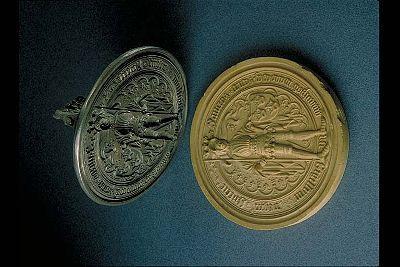 1436 Sweden's Royal Seal Inventory number 41415:159 Statens Historiska Museet Sören Hallgren SHM 1995-03-19