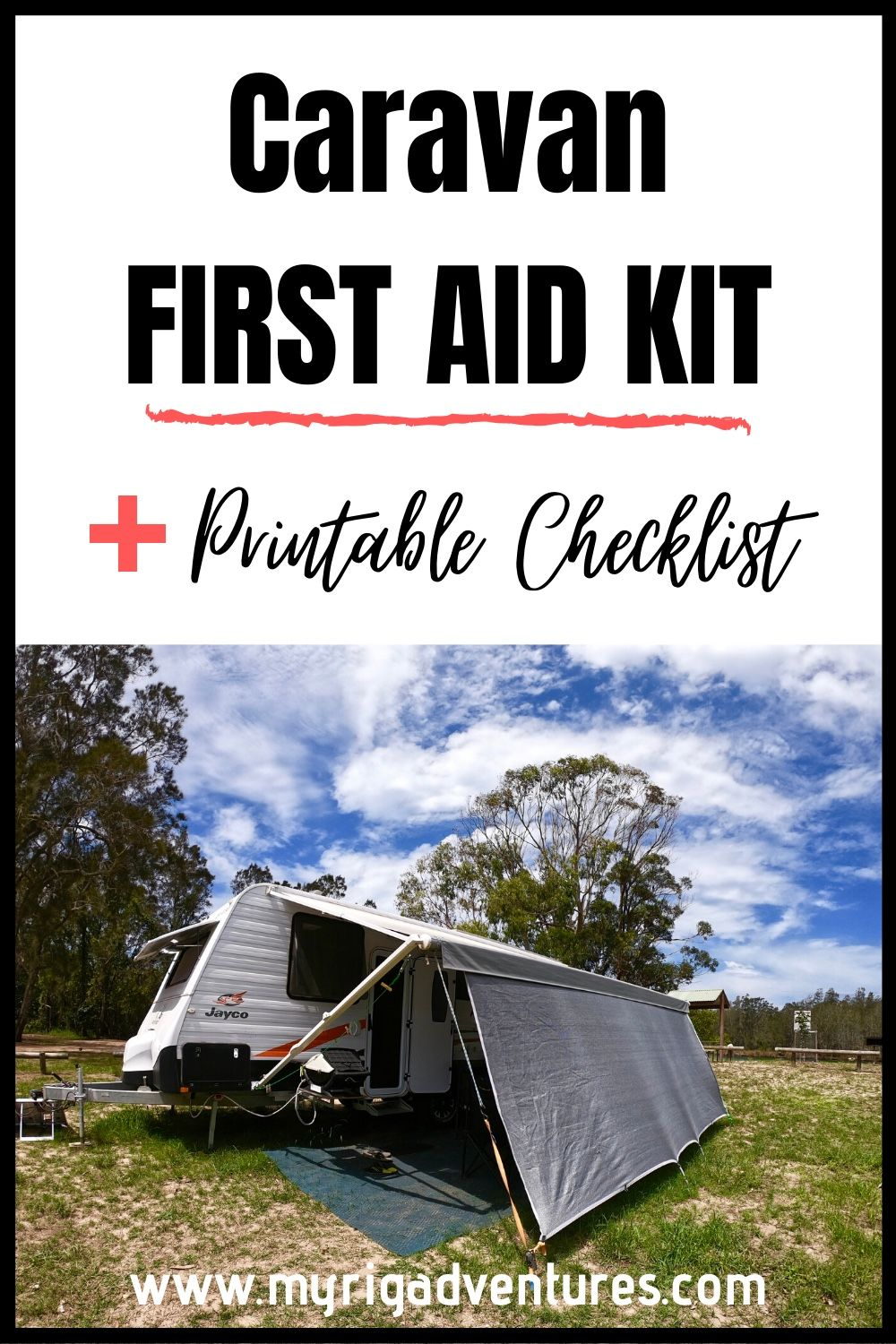 FIRST AID KIT for Caravan & Camping (FREE Checklist) in