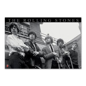 Rolling Stones Truck Poster $15