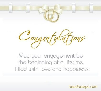 Congratulations On Your Engagement Engagement Quotes Congratulations Engagement Message Engagement Cards Messages