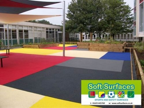 Playground Rubber Soft Spongy Bouncy Safety Surfacing Contractors - Spongy outdoor flooring