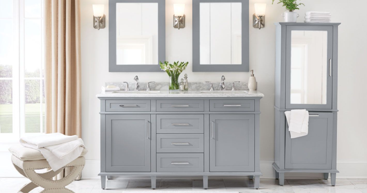 Shop Our Bath Department To Customize Your Sonoma Collection Today At The Home Depot Home Depot Bathroom Best Bathroom Designs Unique Bathroom Vanity