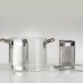 Glass Pot By Knindustrie Glass Cookware Kitchenware