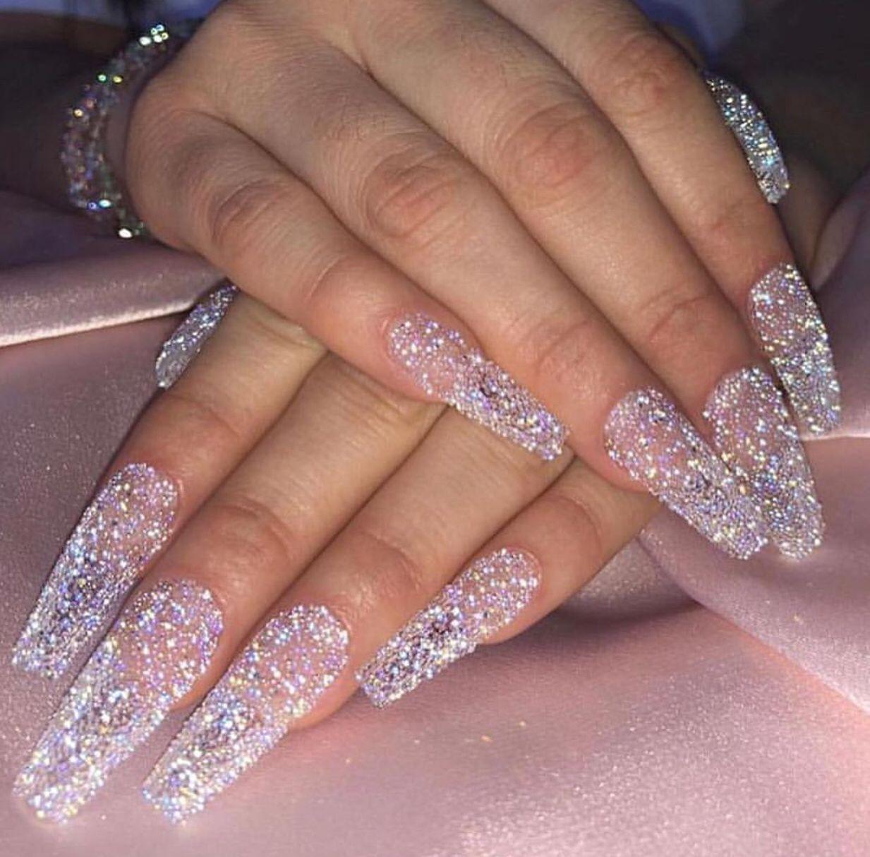 #ongles - ongles néon effet arc-en-ciel coffin nails