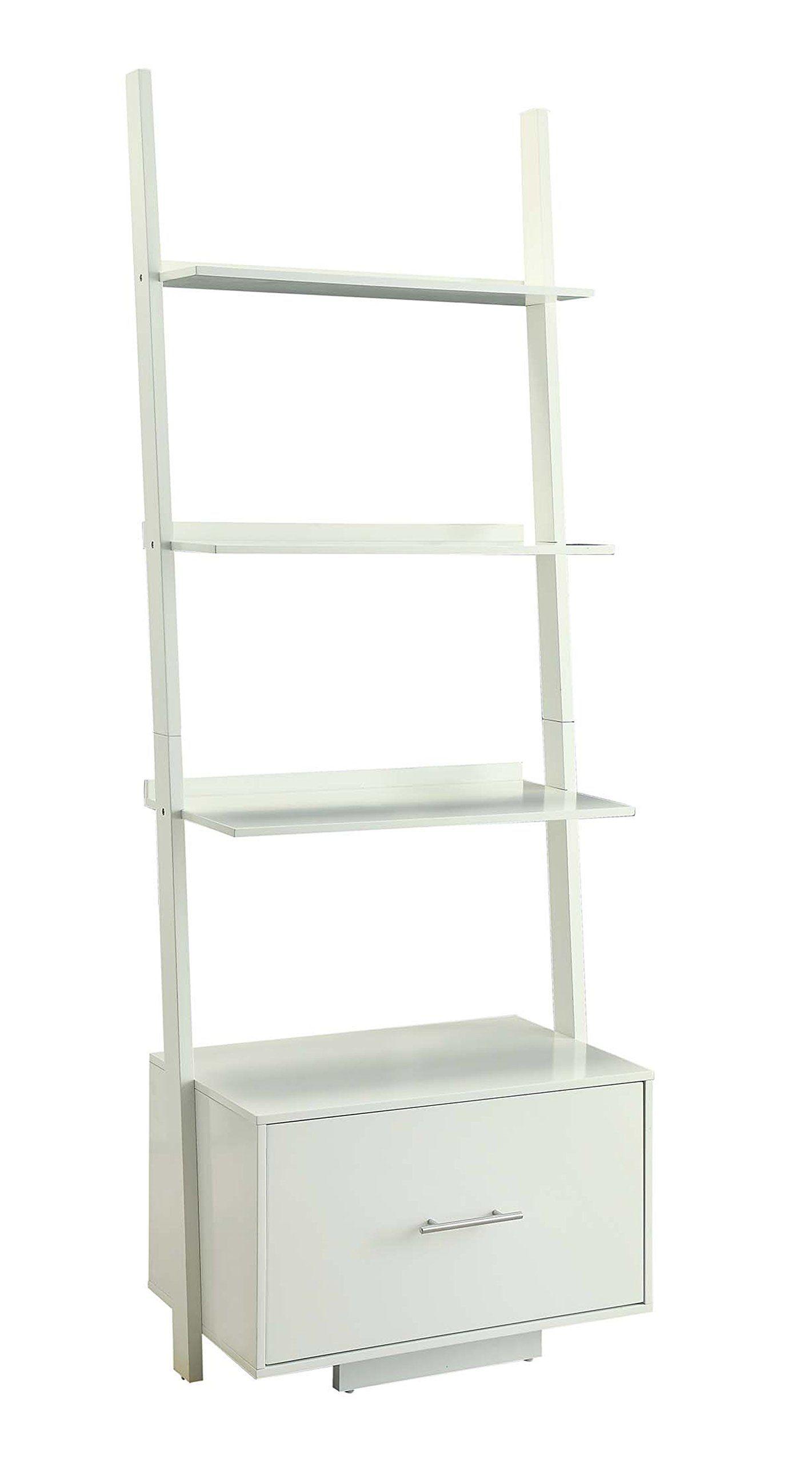 Convenience Concepts Designs2Go American Heritage Ladder Bookcase