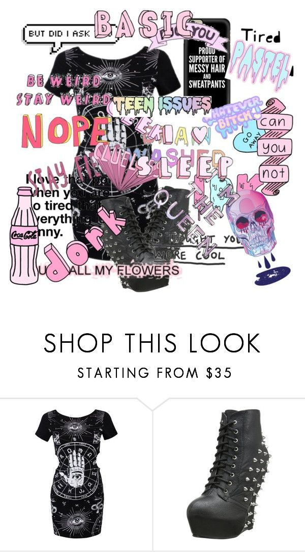 """""""how i feel at school"""" by madhatter-000122334455 ❤ liked on Polyvore featuring Bettie Page and Casetify"""
