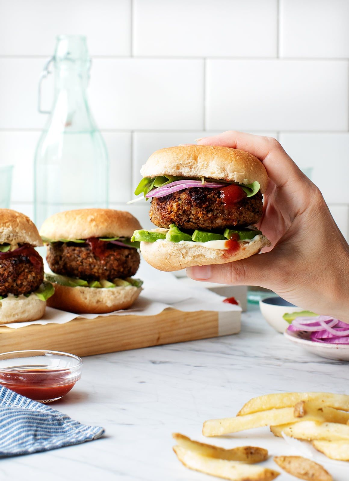 Best Veggie Burger Recipe Love And Lemons Recipe Best Veggie Burger Veggie Burgers Recipe Veggie Burger