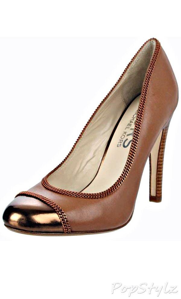 91b0b9d25e8 Fashion Accessories · Wedges · Michael-kors Gorden Nutmeg Leather Pump All  About Shoes