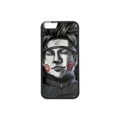 Naruto Shippuden Choji Akimichi Naruto Friend 3D B&W Portrait Phone Case
