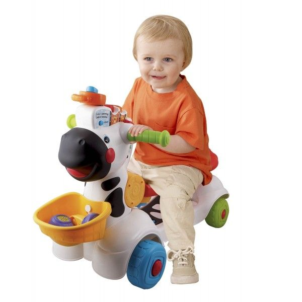 Vtech 3 In 1 Learning Zebra Scooter Ride On Scooters Toys Kids Toys Online Best Educational Toys Perfect Baby Gift