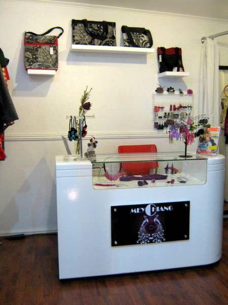 Muebles para negocios tiendas mostradores exhibidores for Mostradores para oficina
