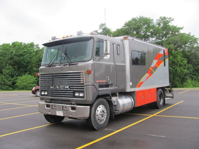 Lensing And Shuttering Mack Truck Rv Conversion Mack