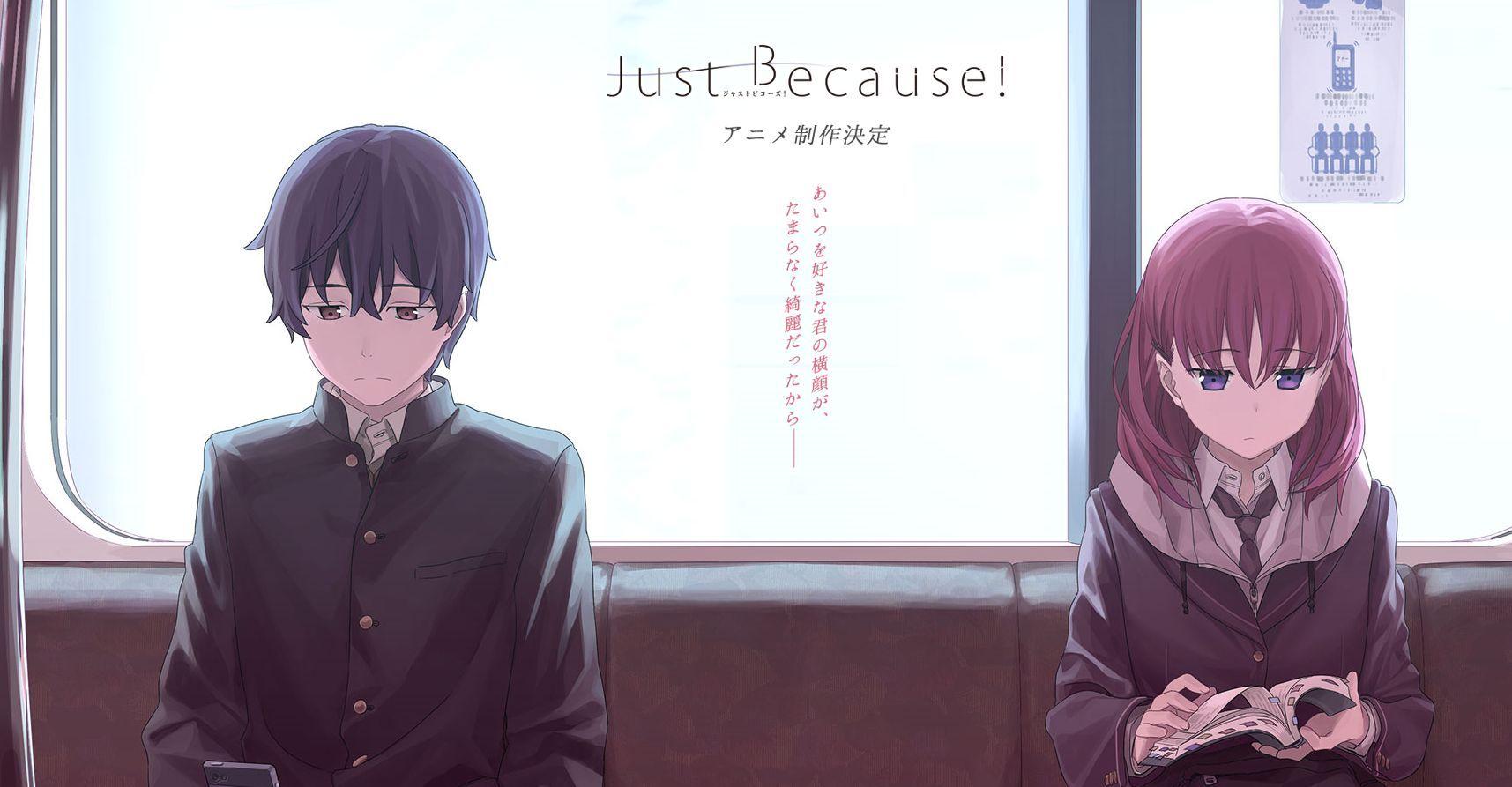 Kết quả hình ảnh cho just because anime Anime, Hình ảnh