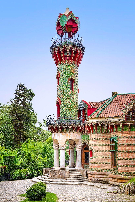 david cardelus captures antoni gaudí's el capricho   Gaudi ...