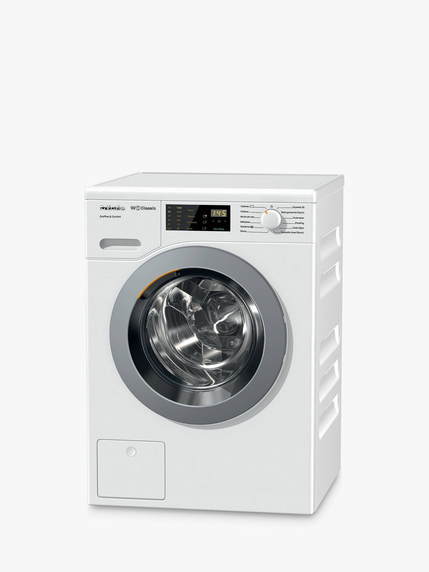 Lave Linge Top Miele Miele Wdd020 Freestanding Eco Washing Machine 8kg Load A
