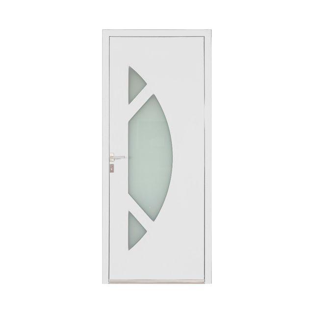 Porte D Entree Alu Amanda Blanc Castorama House Design Design Home Decor