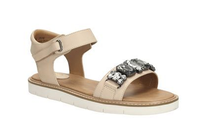 992ee9f45 Womens Casual Sandals - Lydie Joelle in Nude Leather from Clarks shoes