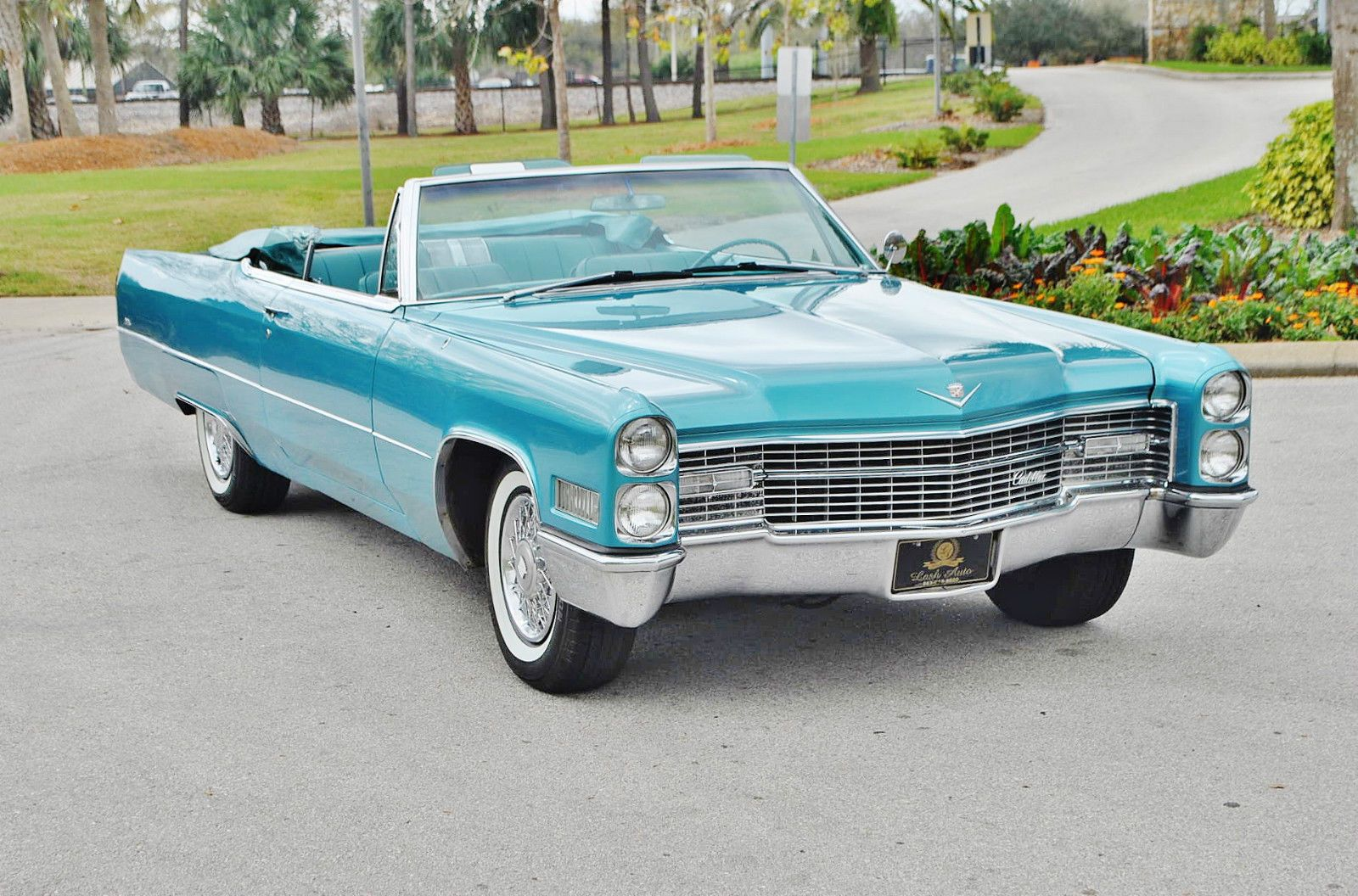 1966 cadillac coupe deville convertible out for a sunday drive. Cars Review. Best American Auto & Cars Review