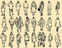 Resultado De Imagen Para Imagenes De Personas Caminando Concurso De Dibujo Perfil Google Dibujos