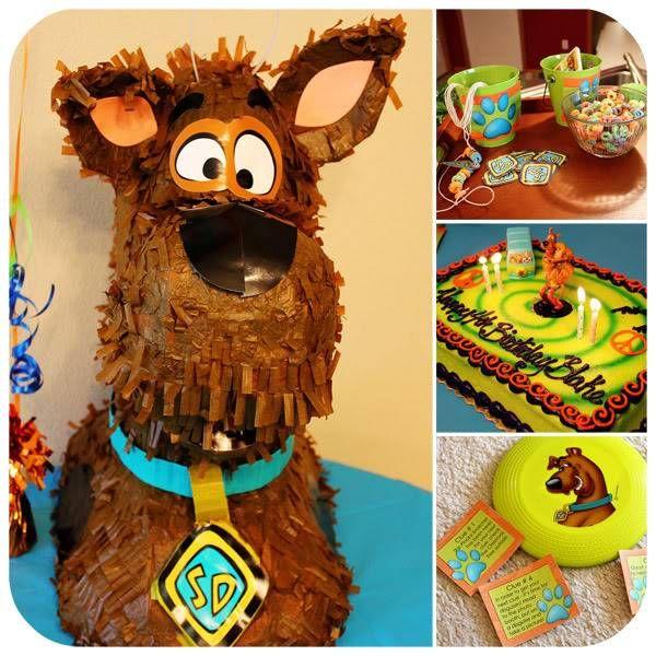 Scooby Doo Birthday Party, Scooby