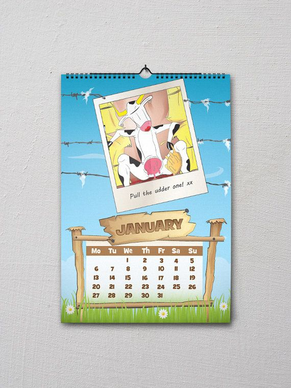 Fun on the Farm 2015 Calendar 12 of your favourite farmyard animals