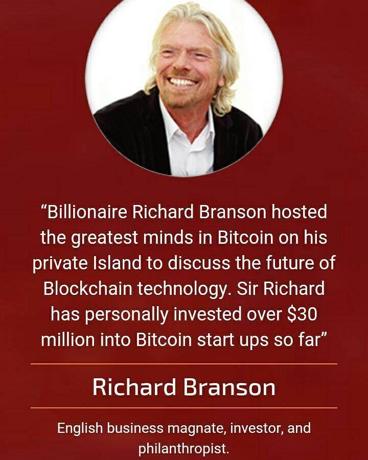 richard branson investe a bitcoin