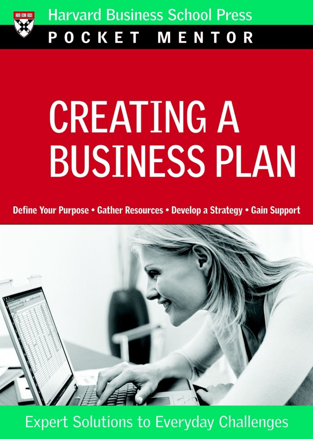 creating a business plan pocket mentor series