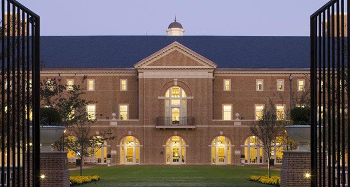 The lovely Miller Hall. Home of The College of William and Mary ...