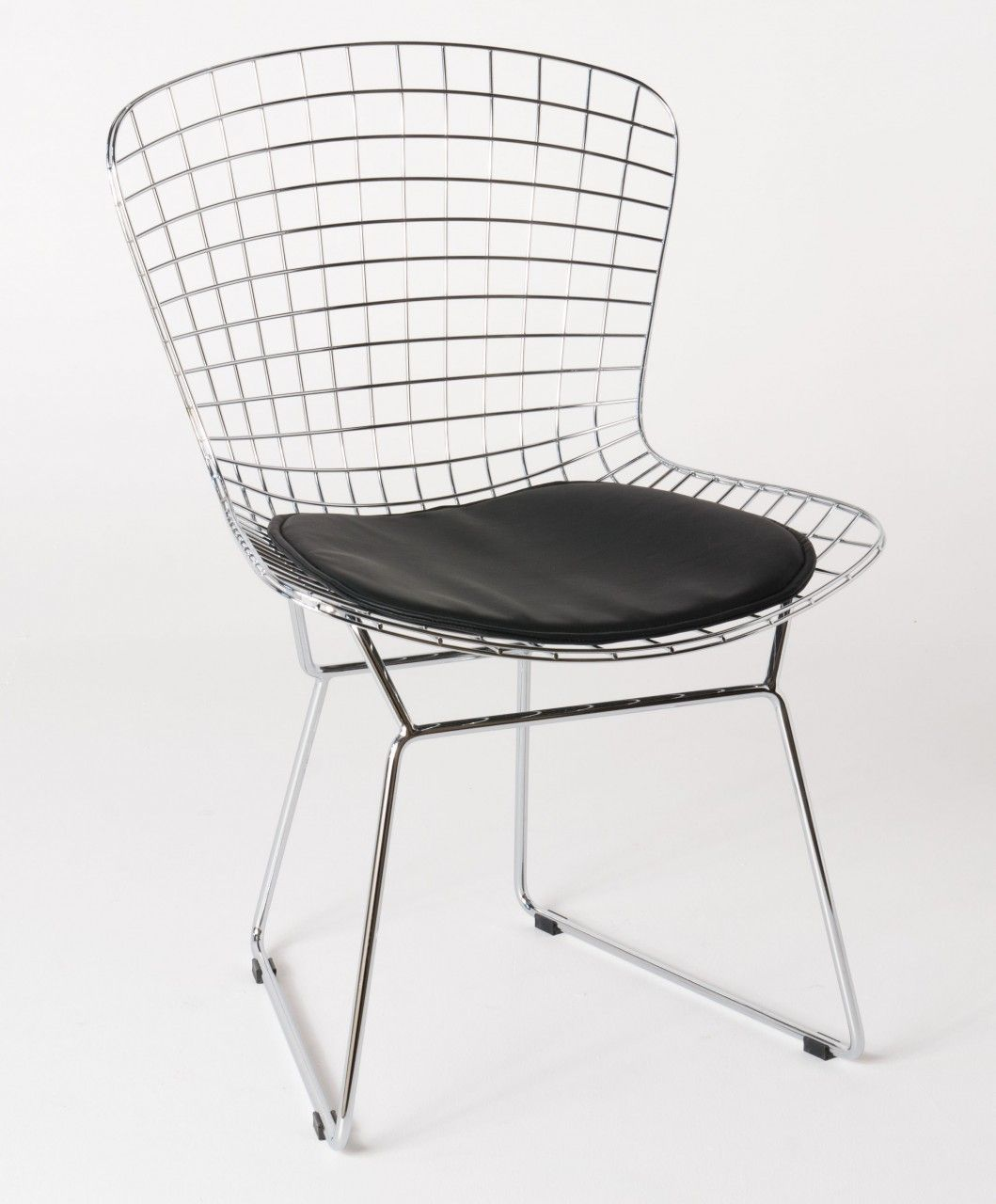 Milano Republic Furniture   Replica Harry Bertoia Bird Chair   Chrome    Various Colour Seat Back