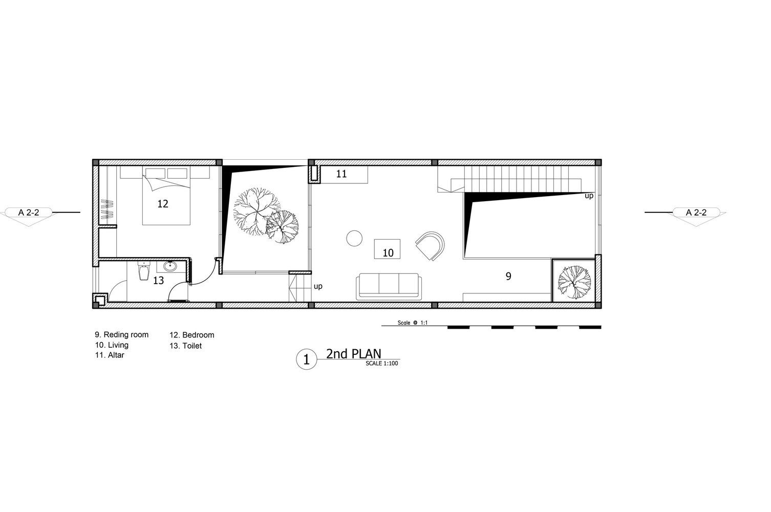 Gallery Of Minimalist House 85 Design 19 In 2018 Presentation