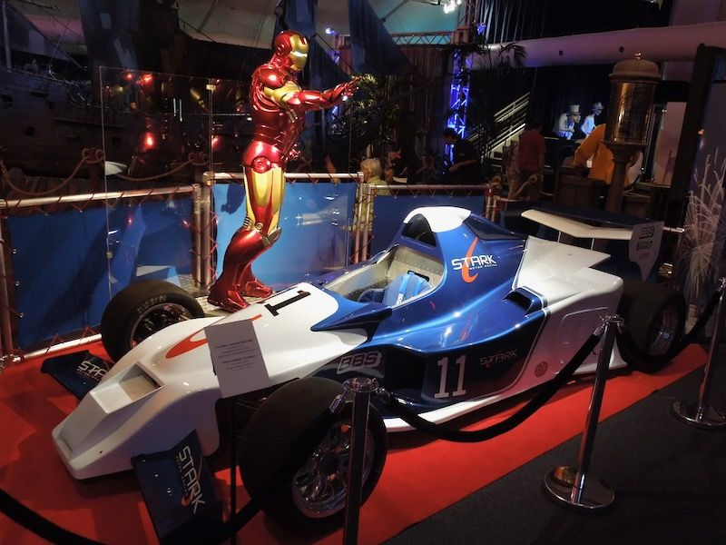 Iron Man 2 Stark Formula 1 Race Car The Future Movie Iron Man Wanted Movie