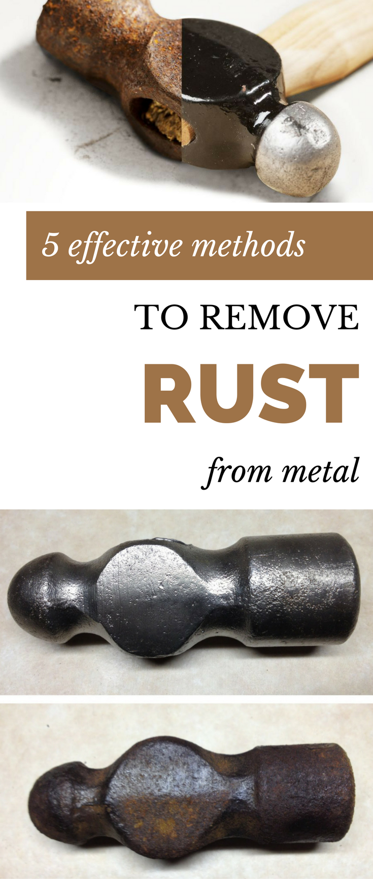 5 Effective Methods To Remove Rust From Metal Cleaningdiy Net