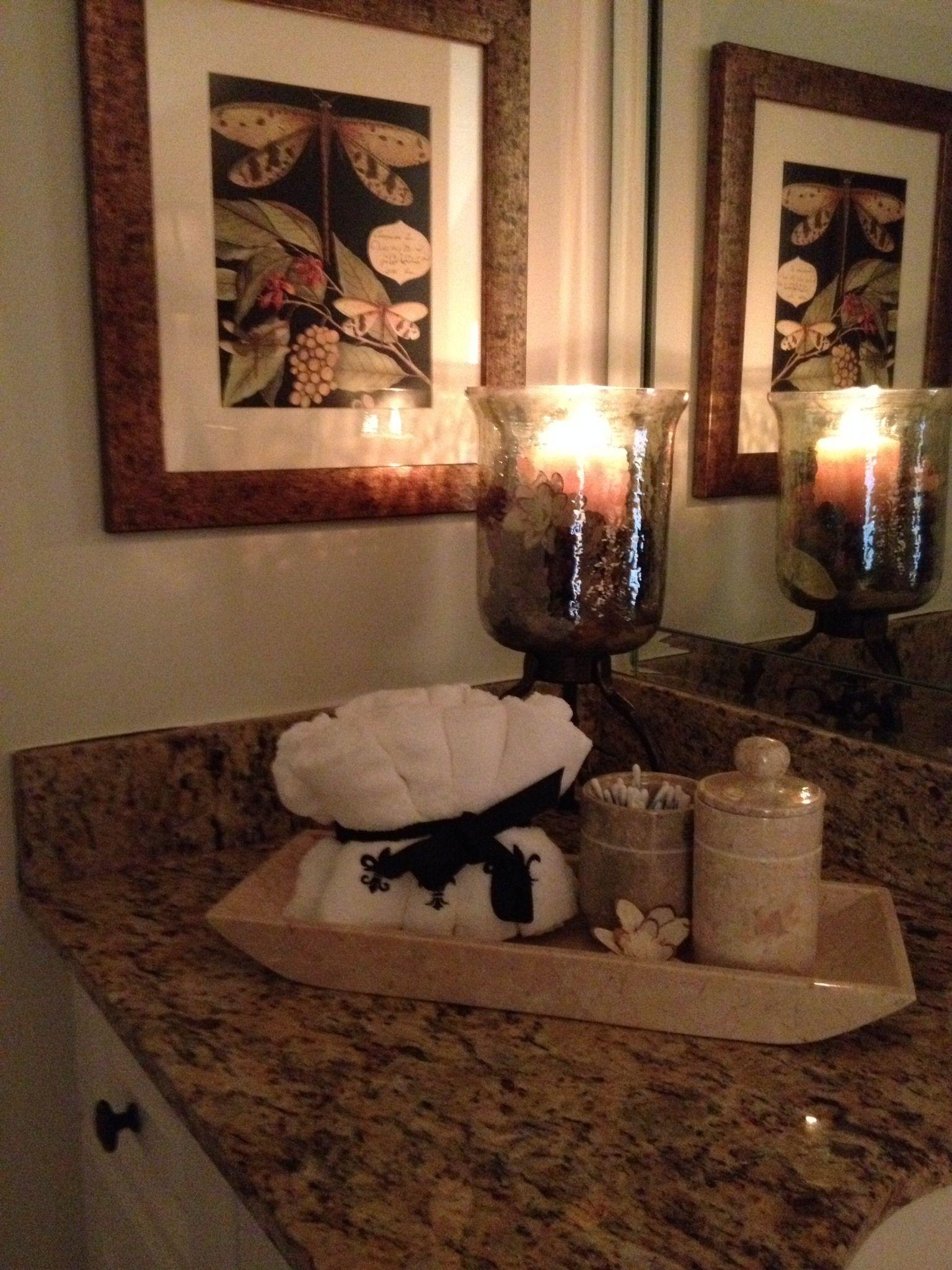 Bathroom Items Especially Nice For Guests Bathroom Decor Bathroom Towels Decor
