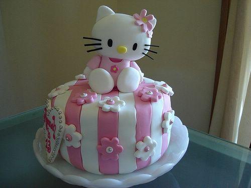Elegant Hello Kitty Birthday Cake Images Kids Birthday Cakes