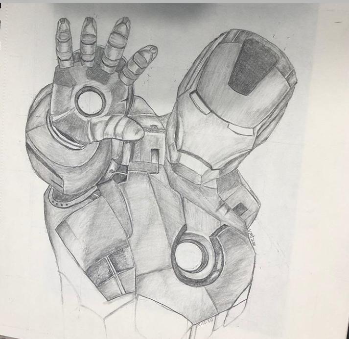 Iron Man Iron Man Drawing Marvel Drawings Iron Man Art