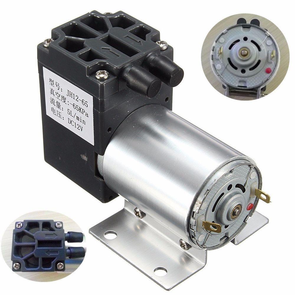 Gochange Dc12V 120Kpa 5L/Min Mini Vacuum Pump Negative