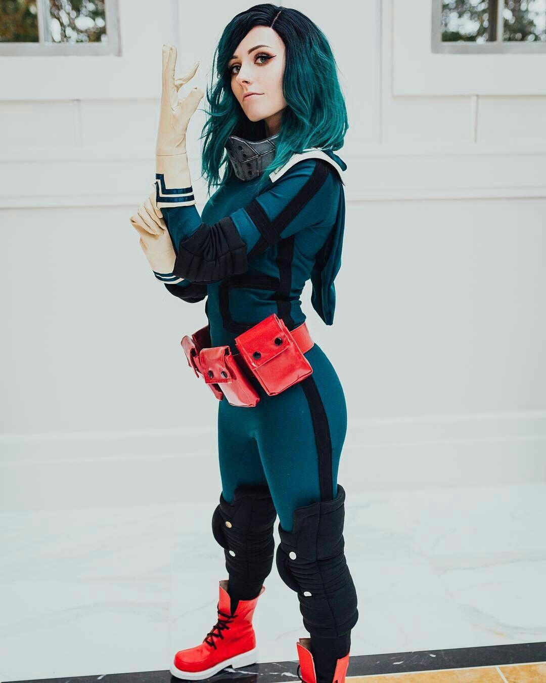 Female Deku | Cosplay, Superhero cosplay, Cosplay costumes