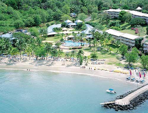 Morgan Bay Beach Resort St Lucai