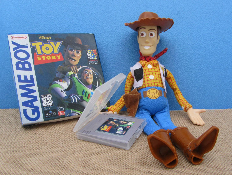 Boy Games Toy : Nintendo toy story game boy cartridge disney pixar vintage