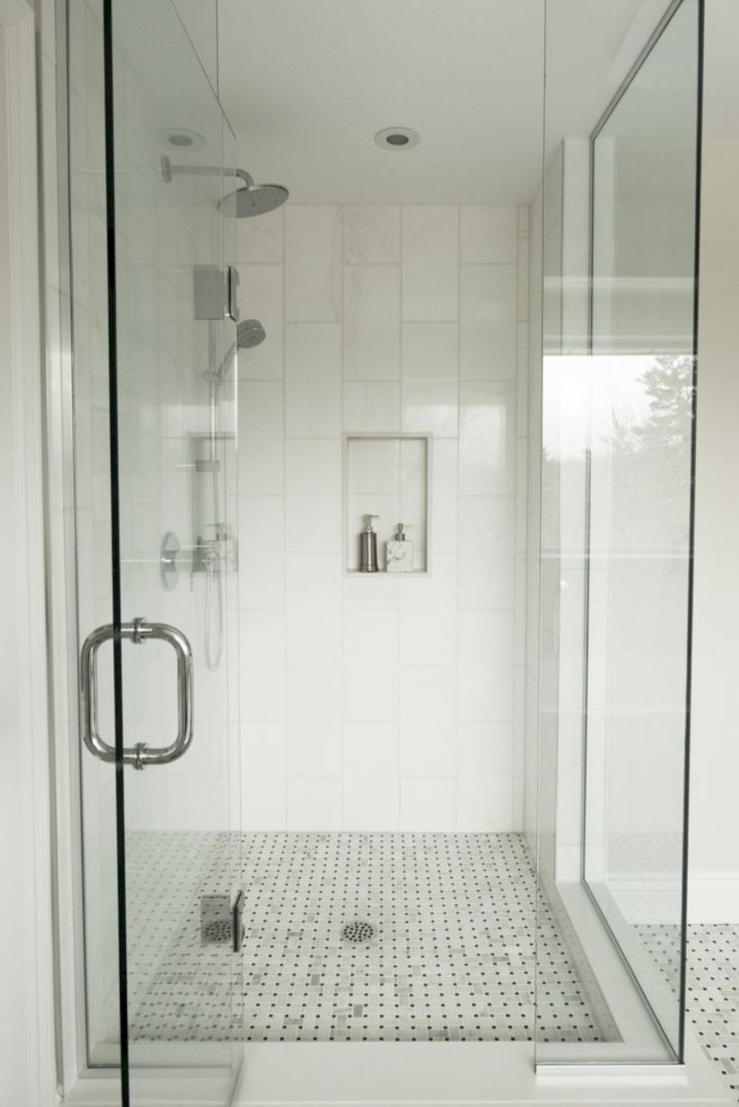 Splendid Image Of Bathroom Decoration Using Stand Up Shower Ideas Simple And Neat Pictur With Images Small Bathroom With Shower Trendy Bathroom Tiles Bathroom Shower Tile