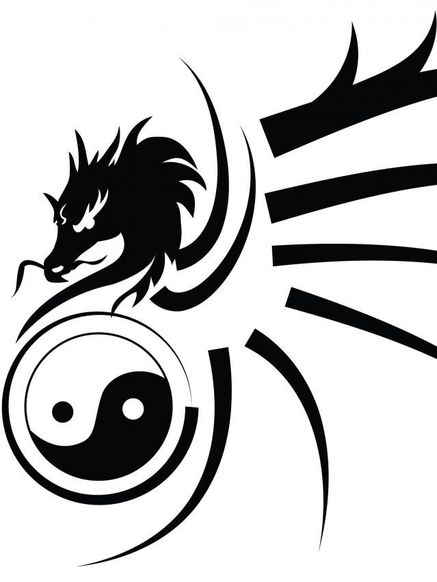 image result for tribal dragons resin jewelry pics pinterest rh pinterest com Yin and Yang Signs Capricorn Paintings Representing Yin and Yang Chinese