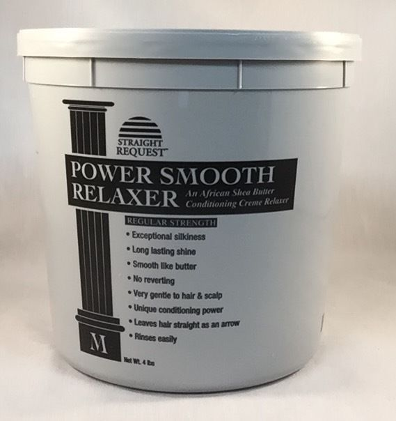 Perms Straight Request Power Smooth African Shea Butter Relaxer