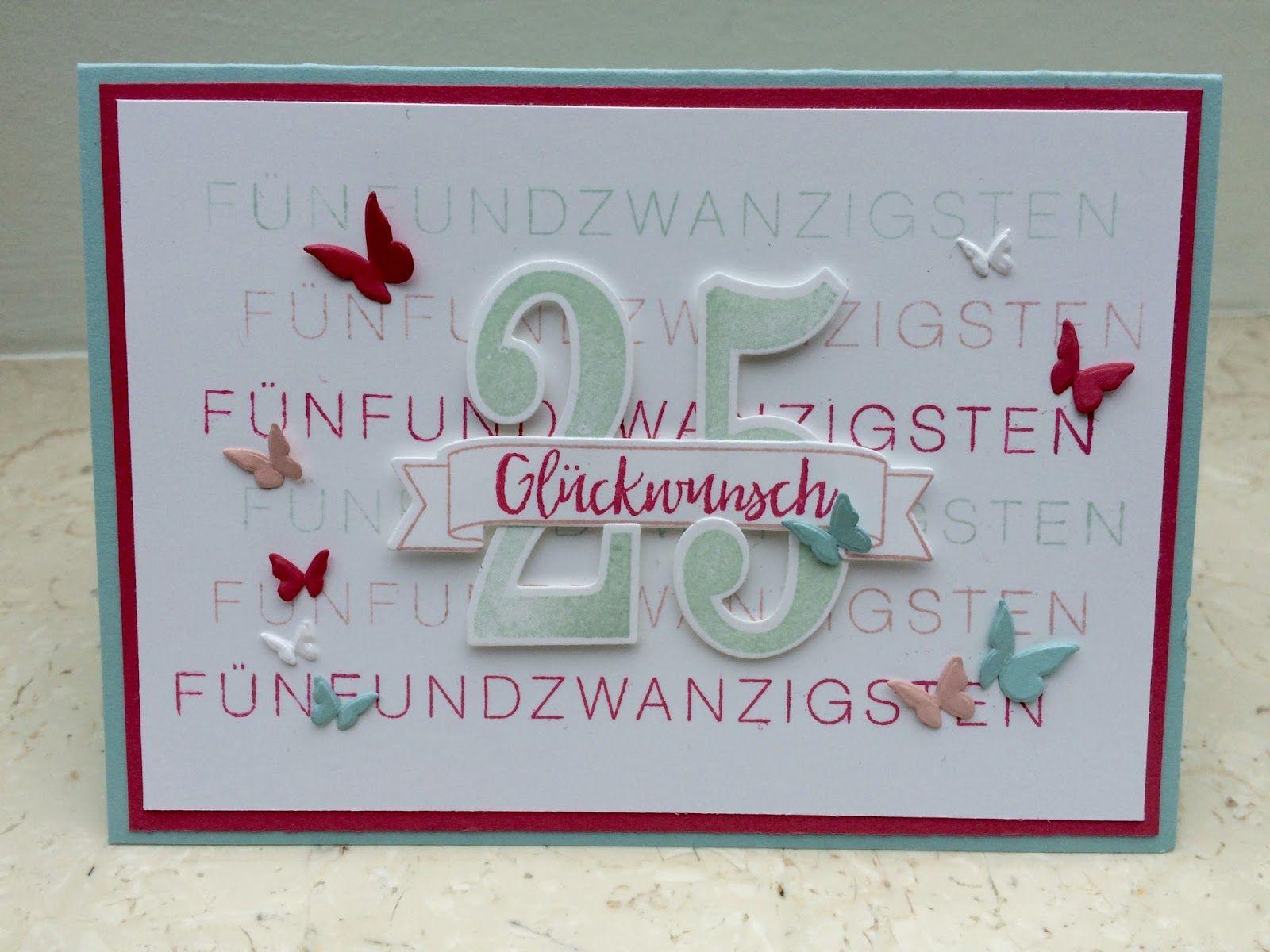 Stampinfantasy Geburtstag Karte Geburtstagskarte Karten Basteln